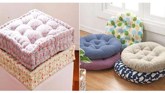tipos de almofadas futon