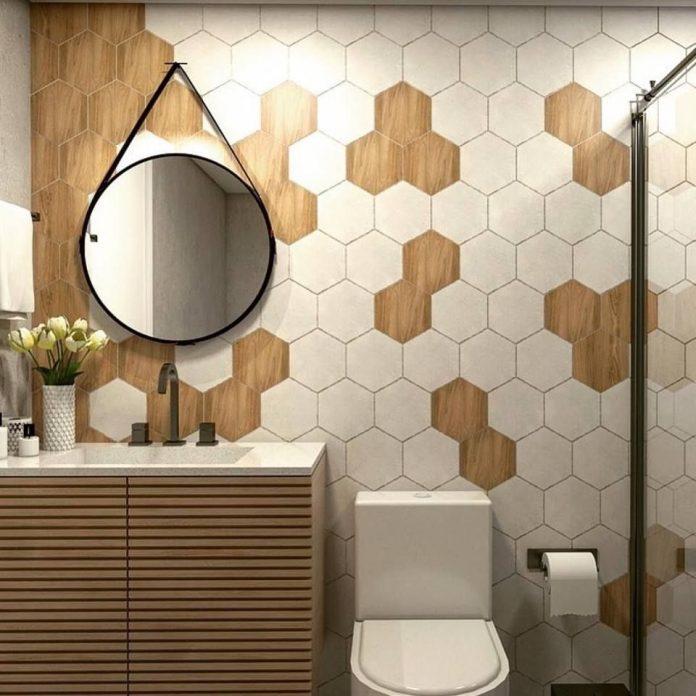 Revestimento Hexagonal no Banheiro: Dicas, fotos e inspirações